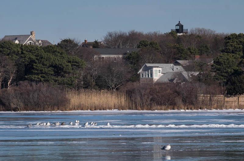 Cold Crystal Lake is crystal, Oak Bluffs