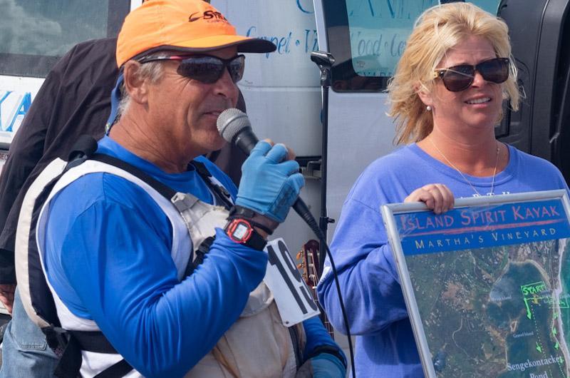 Racing stayed in Sengekontacket Pond